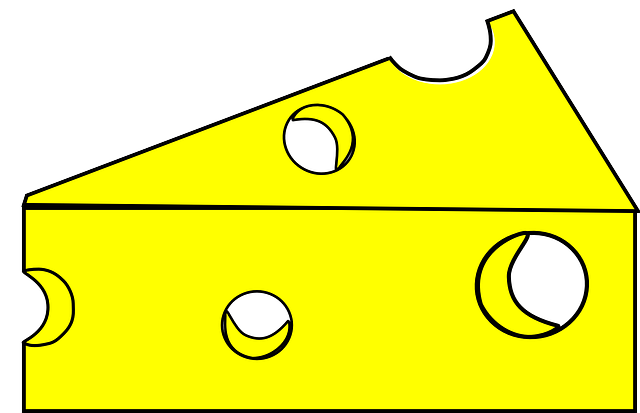 food, cheese, yellow, triangle, dairy