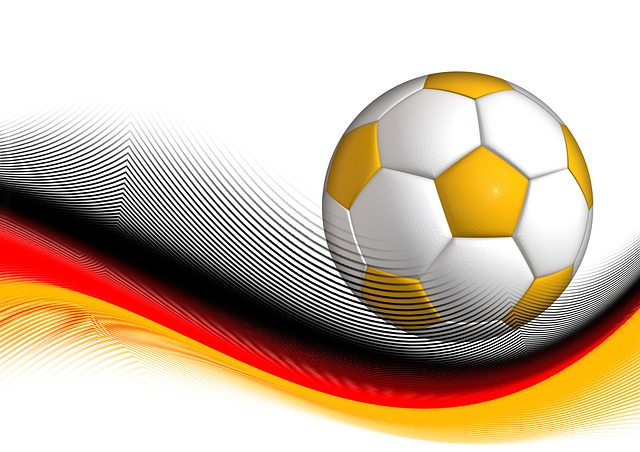 football, ball, sport, dynamics, illustration, germany