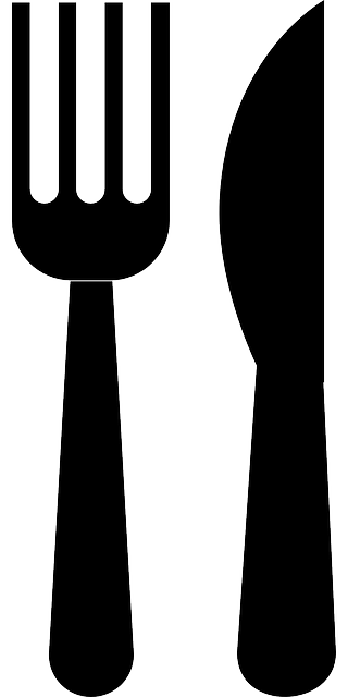fork, knife, dishes, eating, kitchen, food, eat