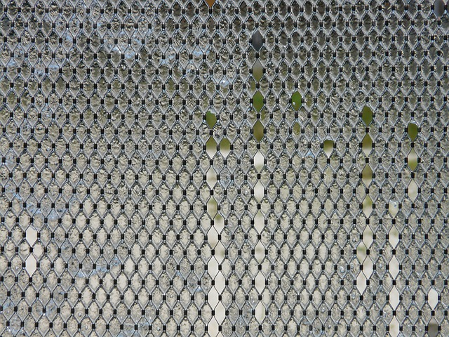 fountain, water feature, metal, water, network, mesh