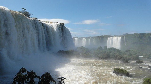 foz do iguaçu, iguaçu, waterfall, water, cases, spray