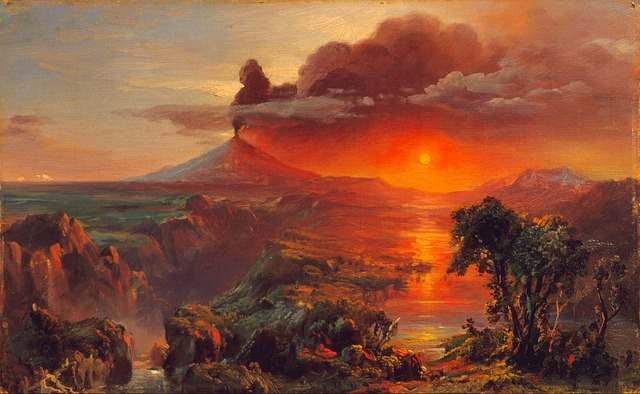 frederic church, painting, art, artistic, artistry