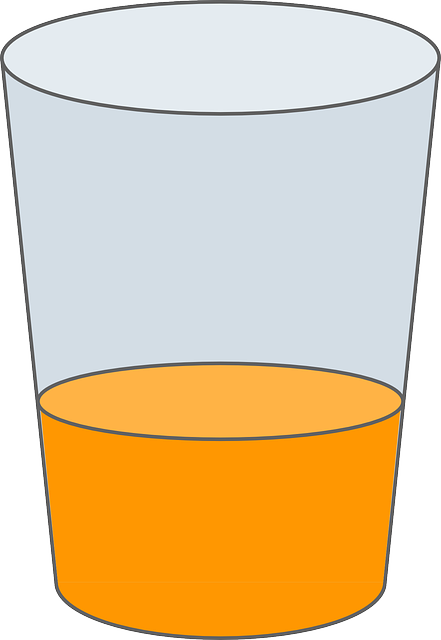 glass, drink, drinking glass, drinking, juice, orange