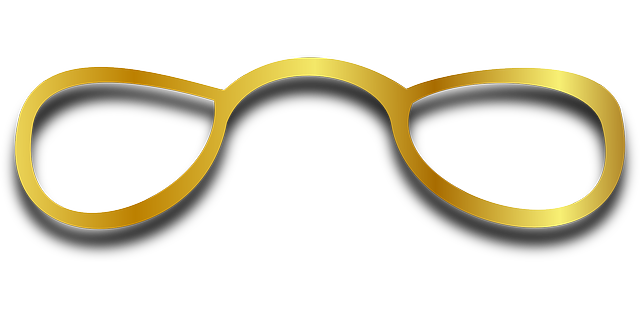 glasses, spectacles, eyeglasses, sight, fashion, yellow
