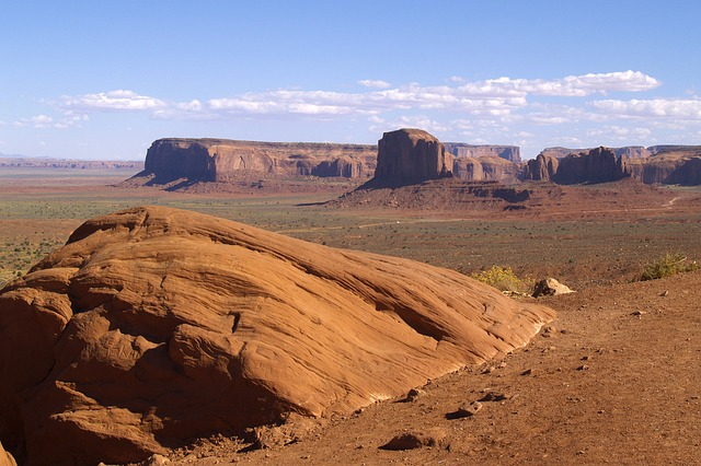 graceful, monument valley, utah, usa, erosion, hot, dry