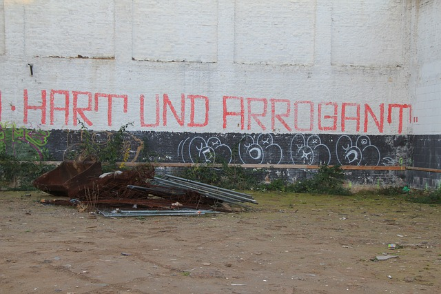 graffiti, hard, arrogant, wall, without the words