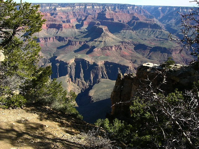 grand canyon, landscape, arizona, mountains, gorge