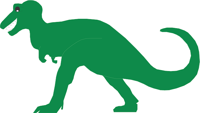 green, simple, art, dinosaur, reptile, ancient