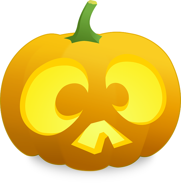 halloween, pumpkin, scared, thanksgiving, carved, face