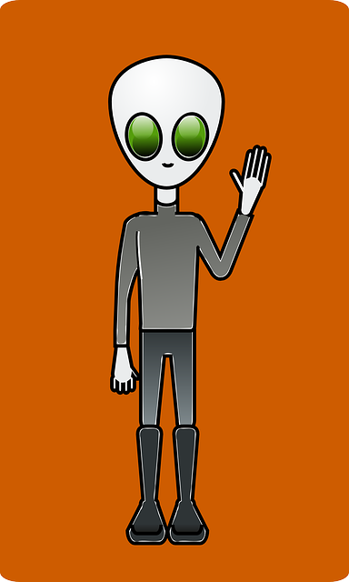 hand, alien, cartoon, space, dude, great