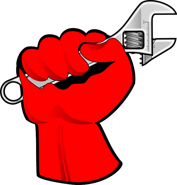 hand, child, wrench, free, day, fist, labor, worker