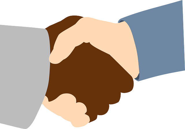handschake, black, white, office, handshake, hand