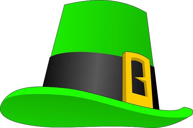 head, man, clothing, hat, men, leprechaun, wear, topper