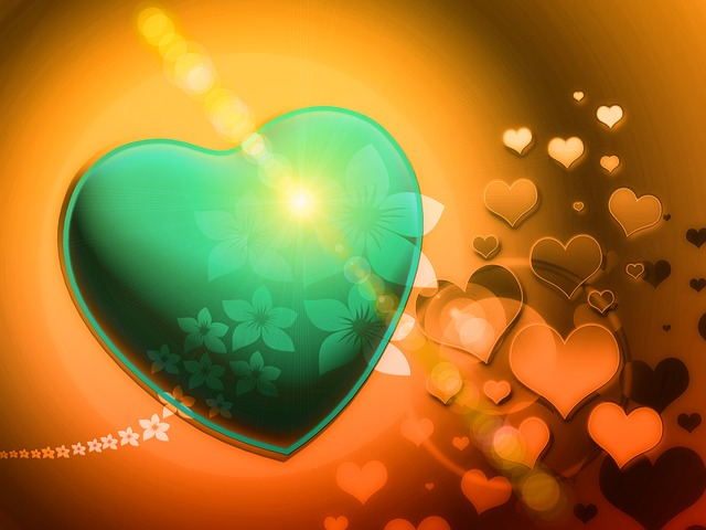 heart, fractal, fractals, romantic, playful, love