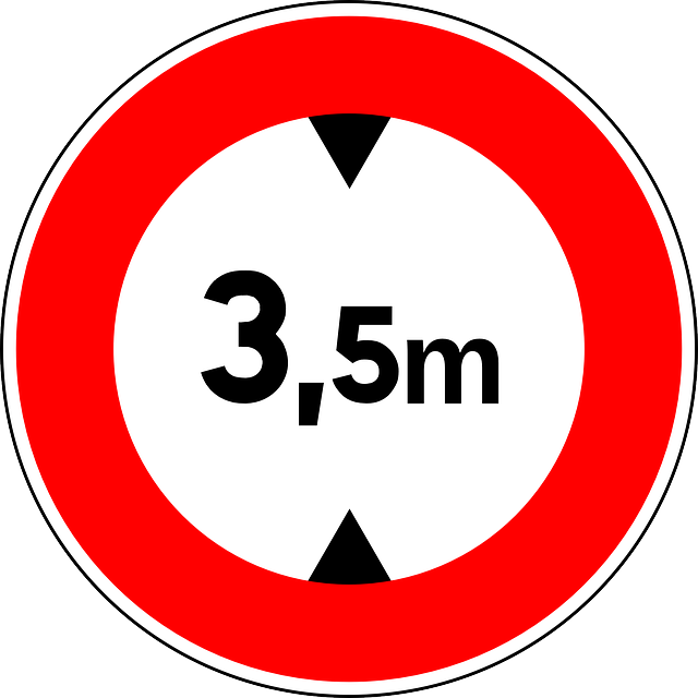 height limit, sign, road sign, traffic sign