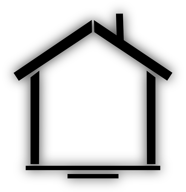 home, black, house, building, simple, silhouette