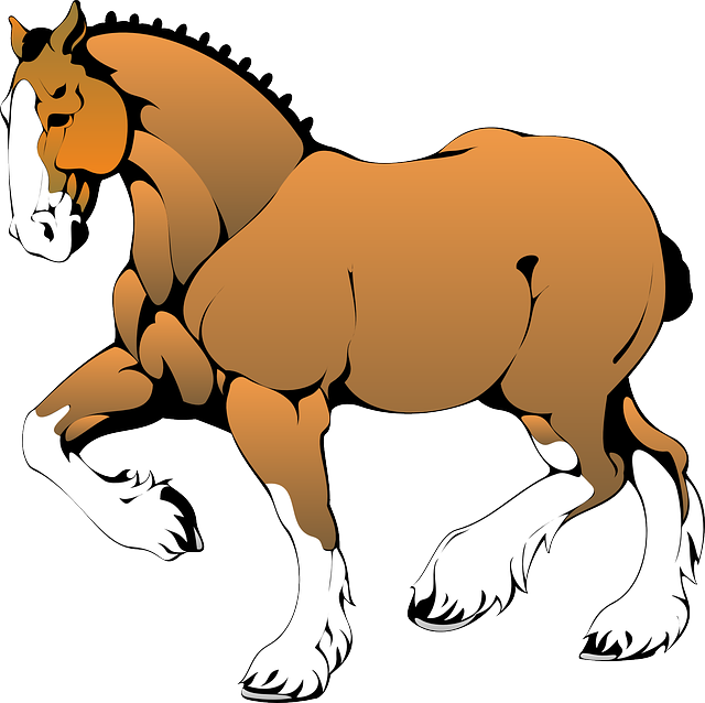 horse, animal, mammal, race, muscular, tied, mane