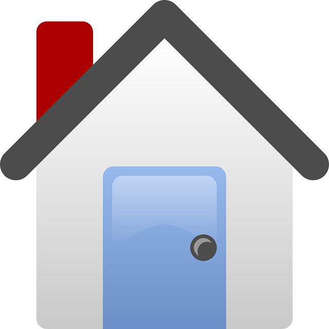 house, home, icon, simple, small, outline, cartoon