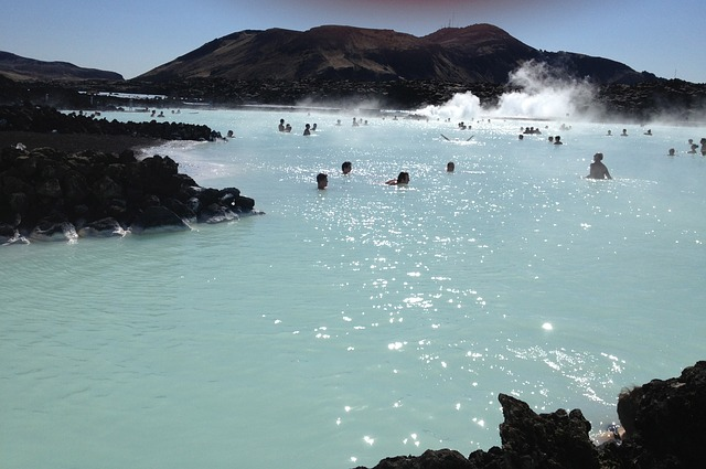 iceland, blue lagoon, water, hot springs, nature