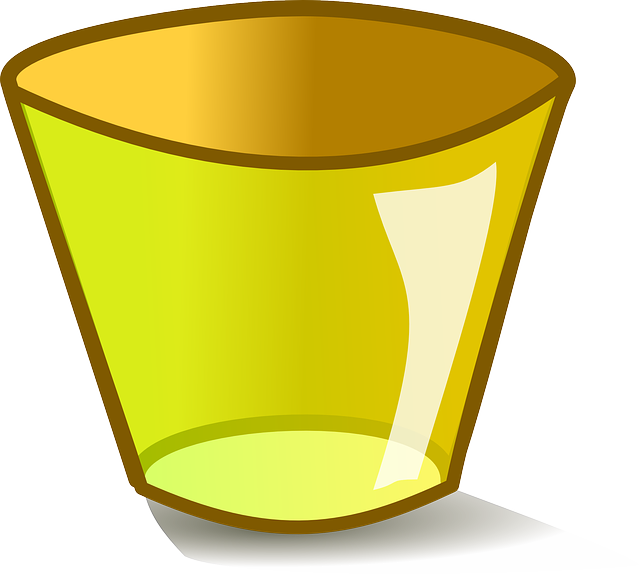 icon, glass, empty, can, trash, theme