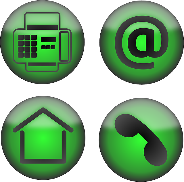 icons, office, contact, email, fax, home, phone