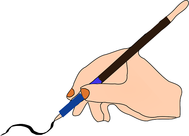 ink, pen, hand, feather, write, writing, hold, quill