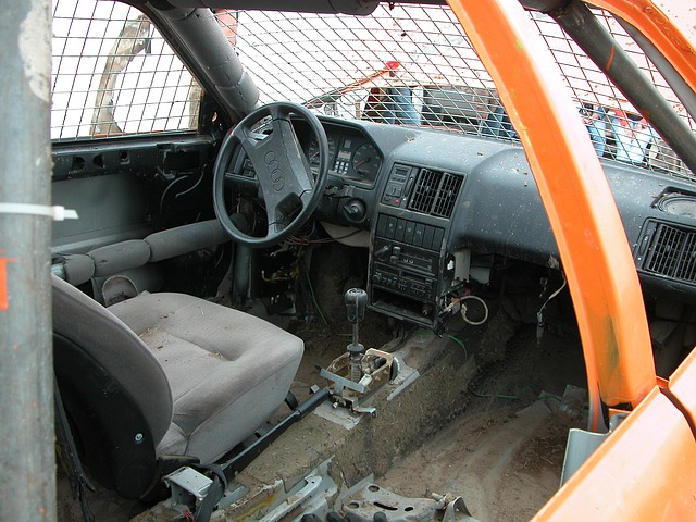 interior, demolished, auto, stock car racing, restored