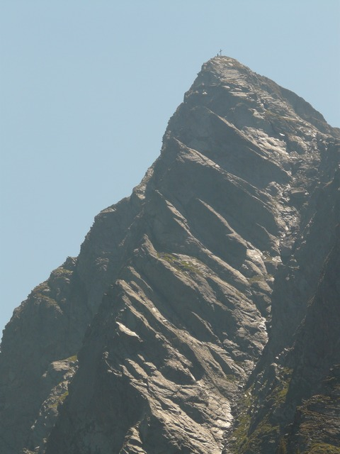 jaufenspitze, mountain, mountain summit, stone, steep