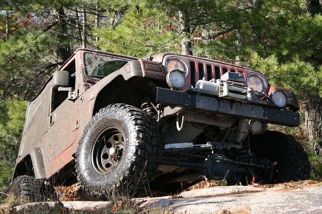jeep on a rock, vehicles, toy, vehicle