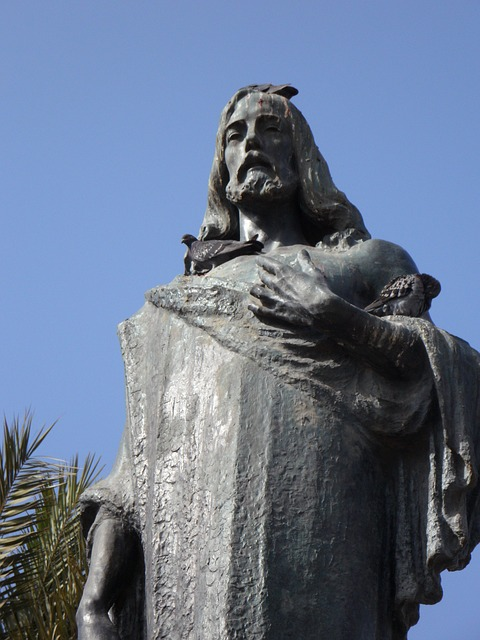 jesus, statue, fig, holy, christianity, sculpture