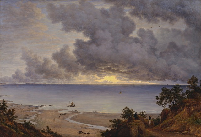 john glover, isle of wright, painting, oil on canvas