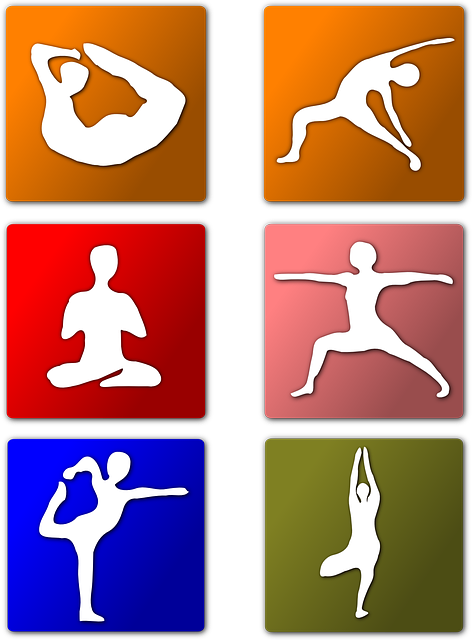 kids, yoga, cartoon, free, positions, indian, exercise