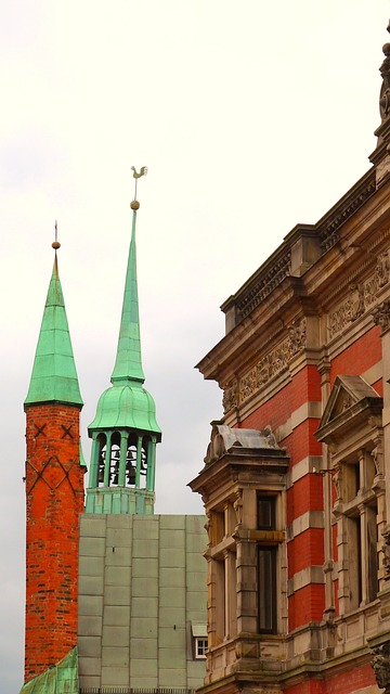 lübeck, hanseatic league, middle ages, old town