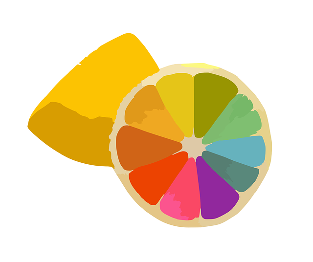 lemon, fruit, citrus, colorful