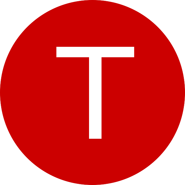 letter, t, red, circle, terminal