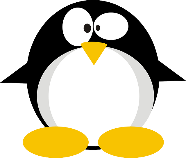 linux, tux, penguin, cute, weird, crazy
