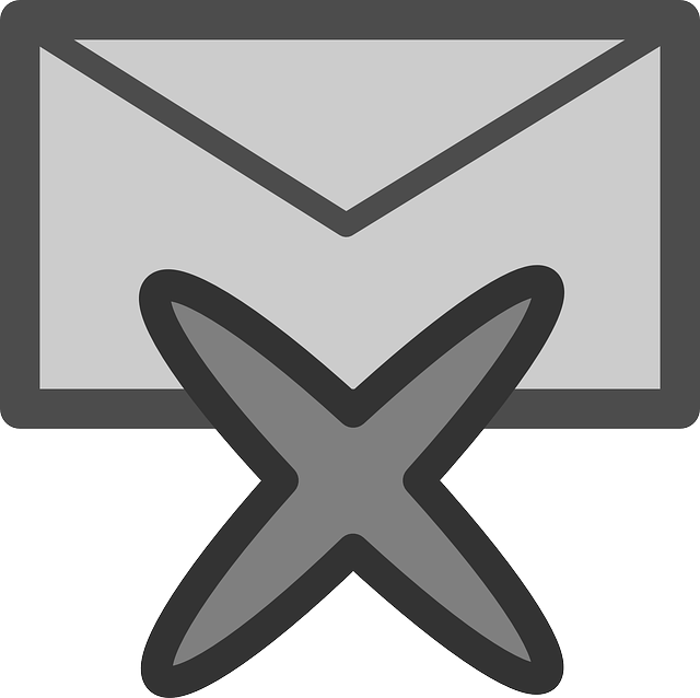 mail, flat, theme, action, delete, icon