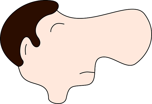 male, man, nose, large