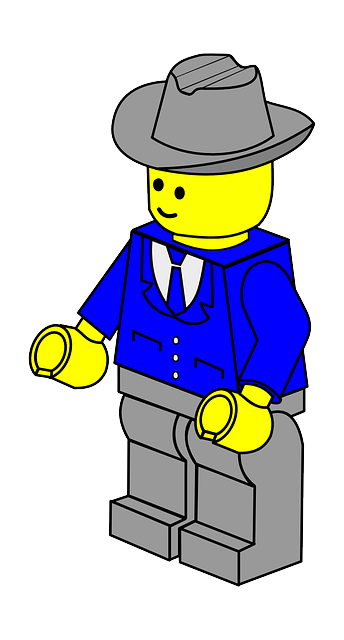 man, hat, stand, cap, town, business, lego, businessman