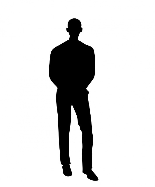 man, male, businessman, person, black, silhouette