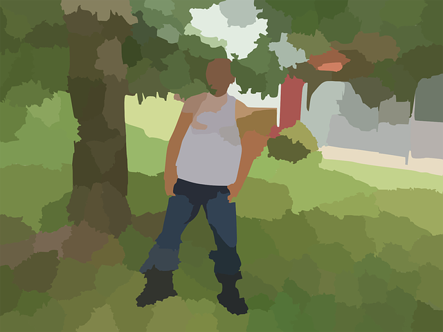 man, park, tree, outdoor, person, standing, cool