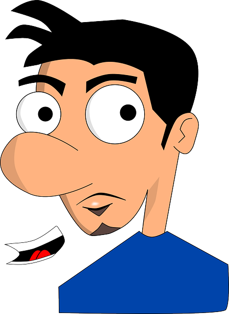 man, person, boy, cartoon, mouth, male, figure, avatar