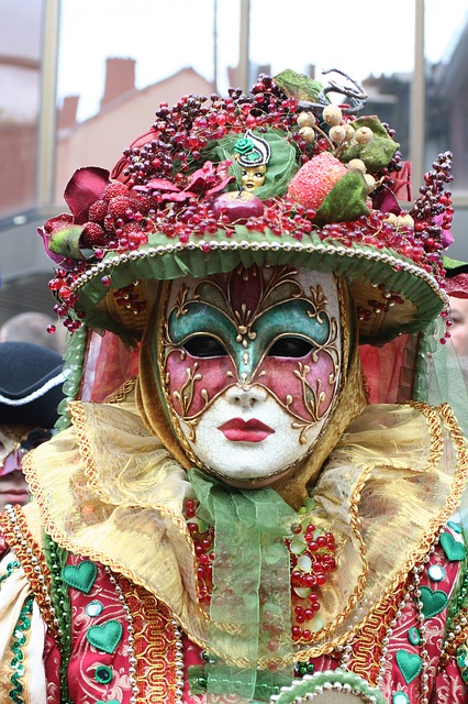 mask, carnival, decoration, spring, art, clothing, face