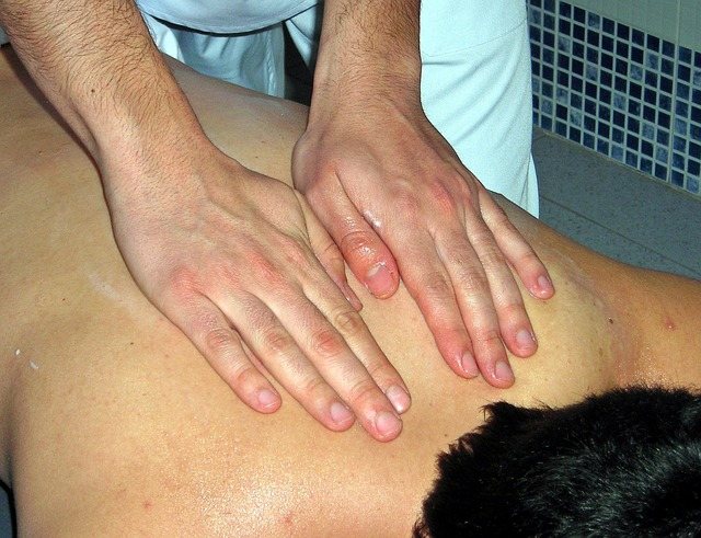 massage, hands, therapy