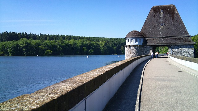 möhnesee, sauerland, germany, water, see, landscape