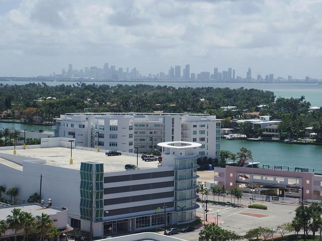 miami, miami beach, downtown, skyline, florida