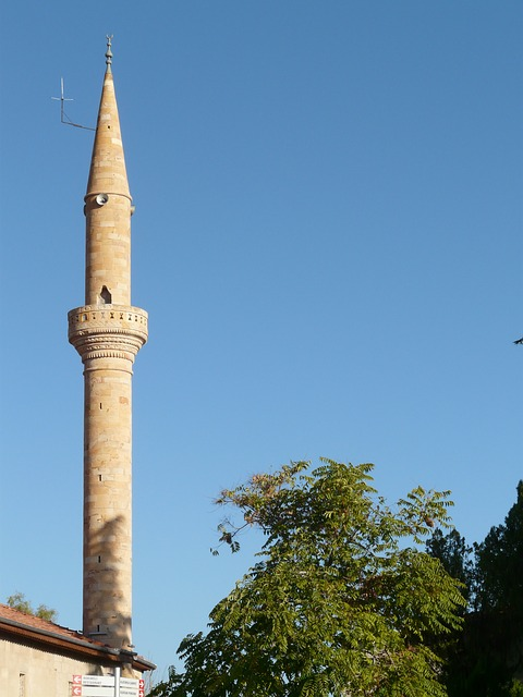 minaret, tower, mosque, think, building, architecture