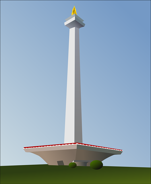 monument, national monument, tower, indonesia, jakarta