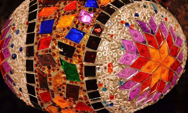 mosaic, tile, art, ceramic, colorful, decorative
