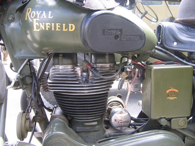 motorcycle, royal, raf, vintage, classic